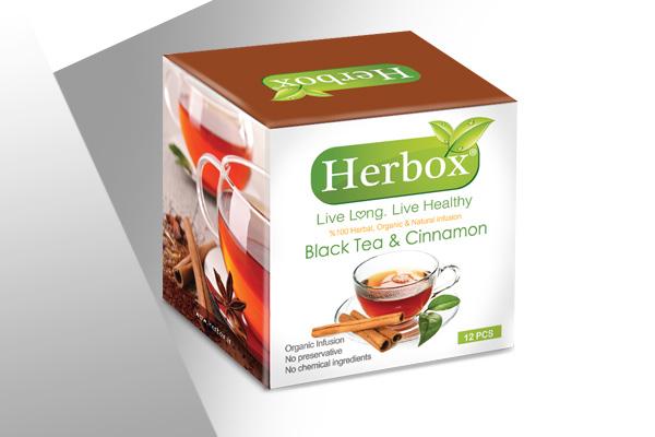 دمنوش چای سیاه و دارچین