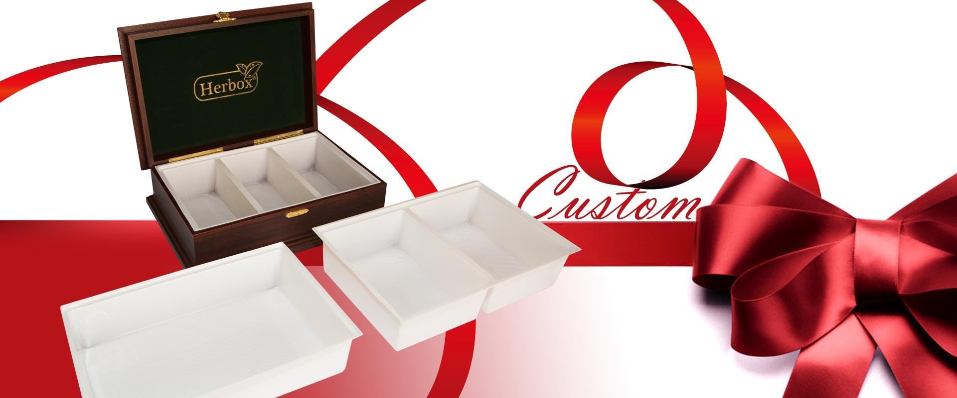 جعبه های سفارشی هرباکس